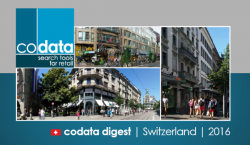 Codata Digest - Switzerland - 2016